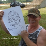 Caricaturist Michael Smith Work