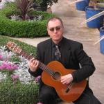 Guitarist John at phipps