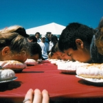 Kaptain Knucklehead Pie Eating Contest