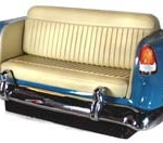 Themed Decor 55 chevy couch