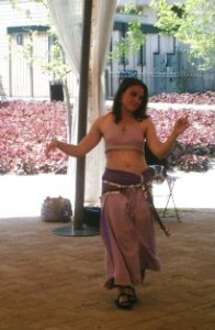 Belly Dancer entertainment for a Company Party