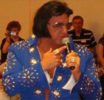 Jamie Harris an Elvis impersonator for entertainment unlmited