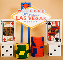Themed Decor for casino parties