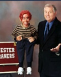 Dennis the ventriloquist in pittsburgh on stage