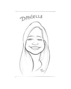 danielle McCloskey Caricature