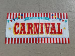 carnival games sign